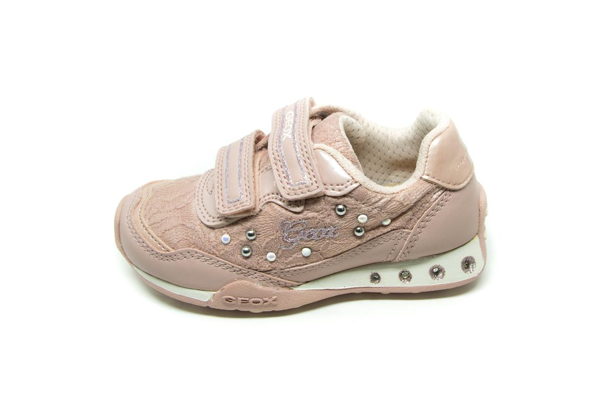 7b890eb820d Casual Geox J72G2B ροζ | Patousaki Παιδικά Παπούτσια