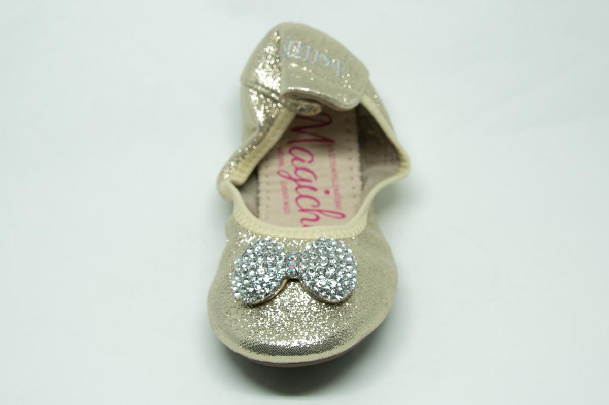 bc973eb7a90 Μπαλαρίνα Lelli Kelly LK4102G χρυσή | Patousaki Παιδικά Παπούτσια