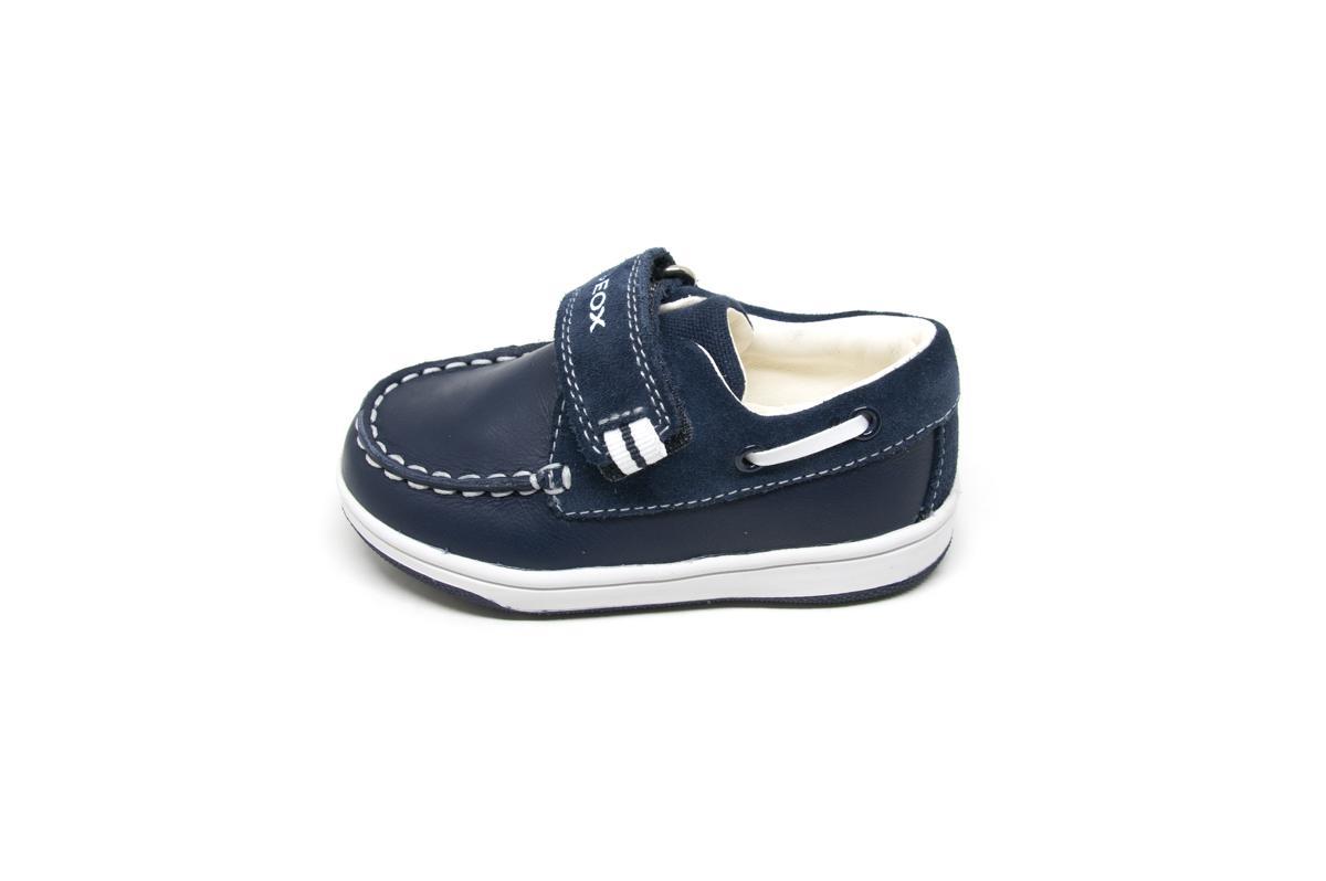 9d2eb9dfb98 Μοκασίνια Geox B821LA μπλε | Patousaki Παιδικά Παπούτσια