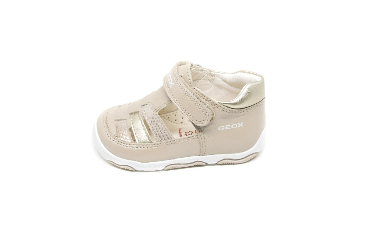 446ab830f9a Ημιανοιχτό Geox B820QA μπεζ   Patousaki Παιδικά Παπούτσια