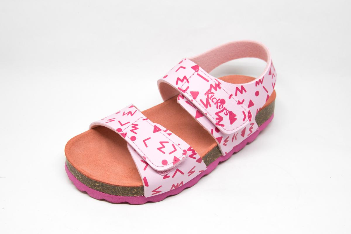 84d7590f74c Πέδιλο Kickers 555507 ροζ | Patousaki Παιδικά Παπούτσια