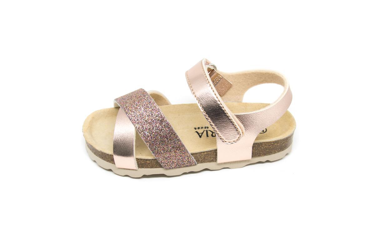c778a3b5e36 Πέδιλο φελλός Alegria 688475 χρυσό γκλίτερ   Patousaki Παιδικά Παπούτσια