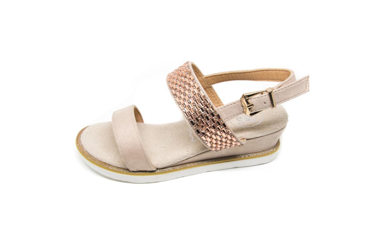 0d50d729d3b Πέδιλο Exe A7111 μπεζ χρυσό   Patousaki Παιδικά Παπούτσια