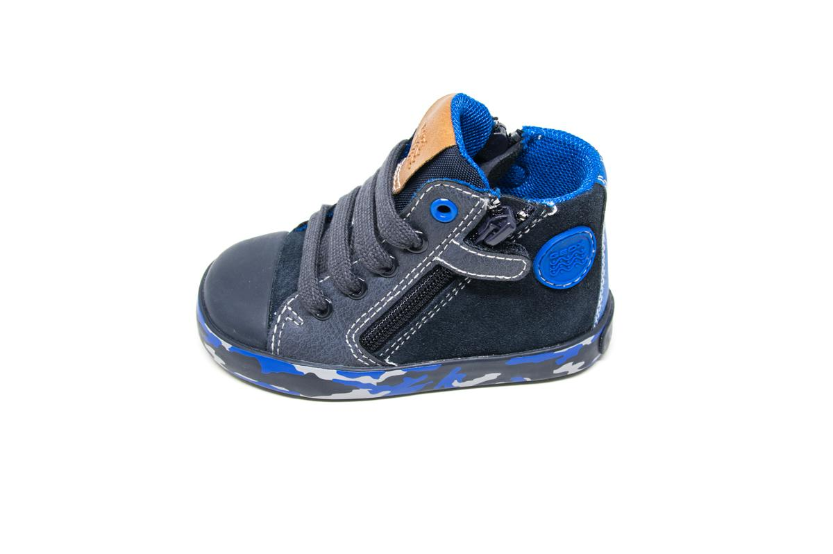61810579059 Μποτάκι Geox B74A7B μπλε | Patousaki Παιδικά Παπούτσια