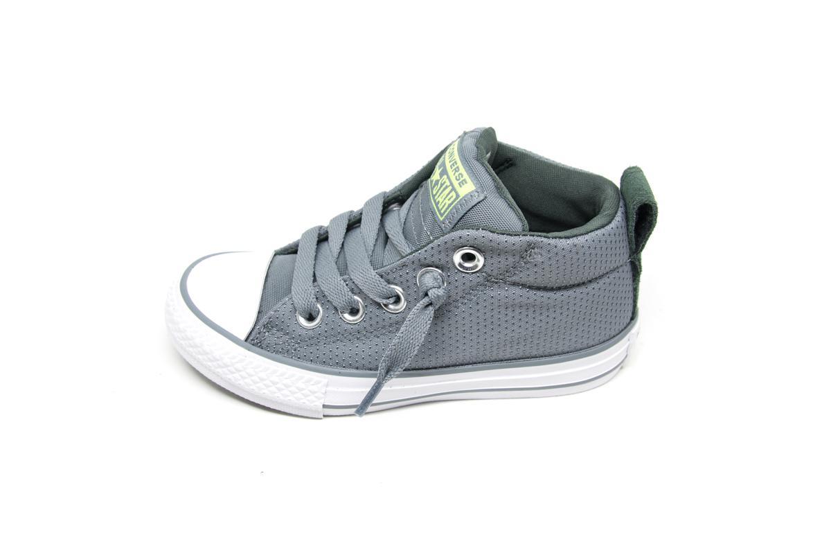b2cee4e8a39 Converse All Star Street Mid 661890C γκρι | Patousaki Παιδικά Παπούτσια