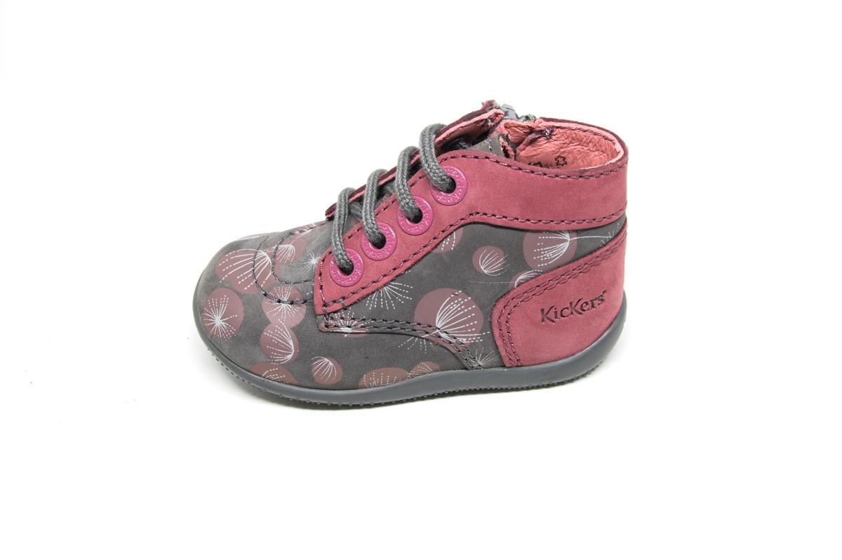 3d865f085c1 Μποτάκι Kickers 653091 γκρι | Patousaki Παιδικά Παπούτσια