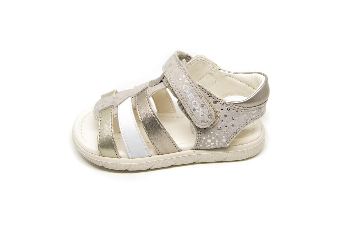 9458410903c Πέδιλο Geox B821YA μπεζ χρυσό   Patousaki Παιδικά Παπούτσια