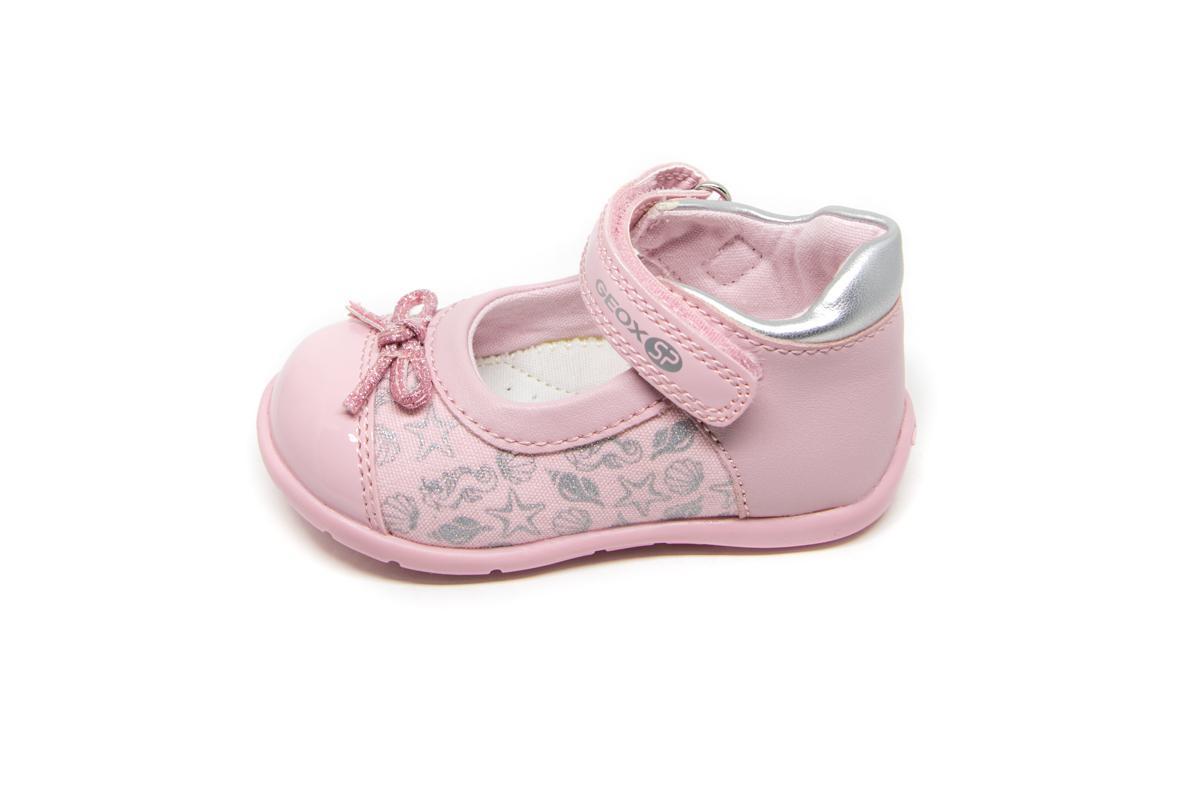 20c0ab1d65b Μπαρέτα Geox B821QC ροζ   Patousaki Παιδικά Παπούτσια