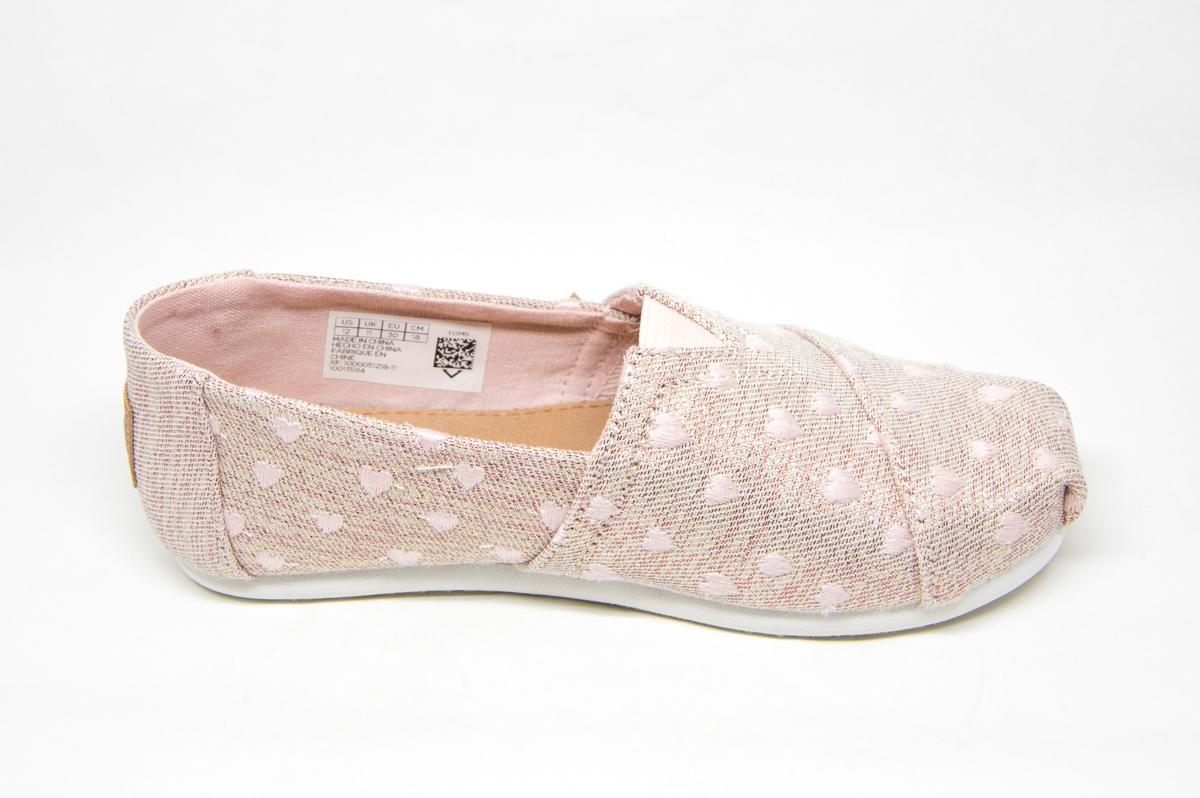 Πάνινο Toms Classic 10013594 ροζ  f48b9d5ca62