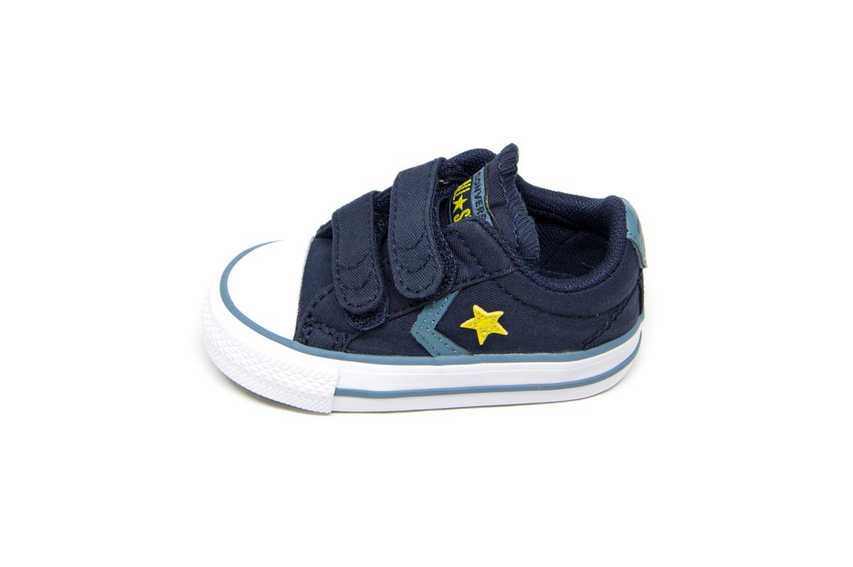75ab3bfe645 Converse All Star Star Player 2V OX 763528C μπλε   Patousaki Παιδικά ...