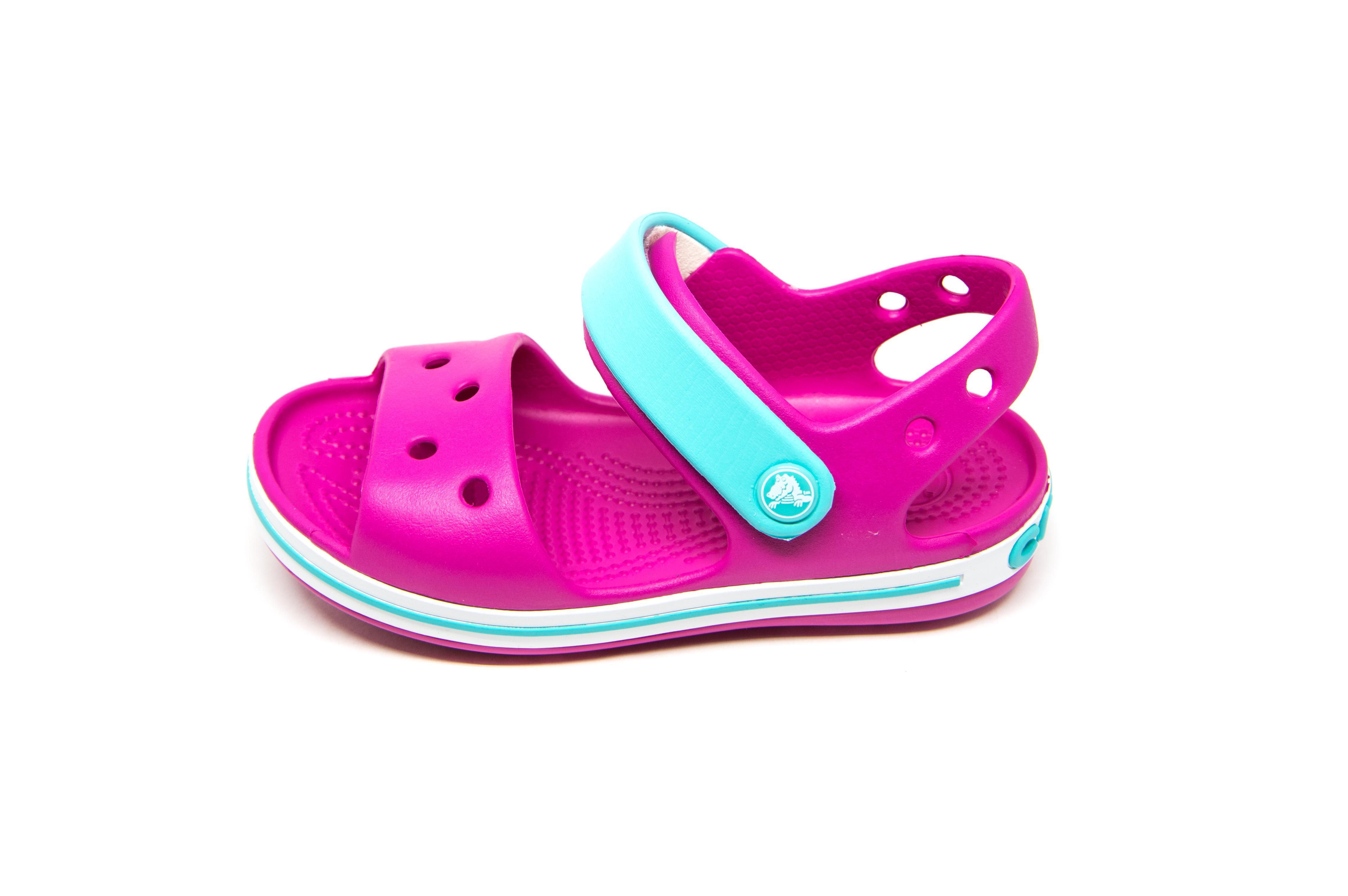 9ab6073f880 Crocs Crocband Sandal 12856-6LH φούξια | Patousaki Παιδικά Παπούτσια